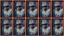 (10) 1992 Legends #59 Barry Sanders Football Card Lot Detroit Lions