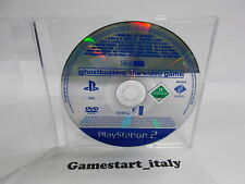 GHOSTBUSTERS THE VIDEOGAME SCES-55571 (SONY PS2) PROMO VERSION - PAL VERSION