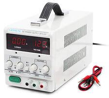 Lavolta Fuente Alimentación DC Laboratorio Regulable Digital Ajustable 30V 5A
