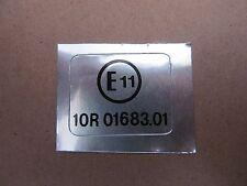 """Marca De Transferencia Decal Sticker 63-0074 e 1 3/16"""" X 5/16"""" 30 Mm x 24 mm *"""