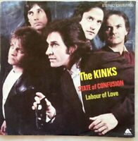"THE KINKS 7""-1983- State Of Confusion/Labor Of Love-Arista 106057-Germany"