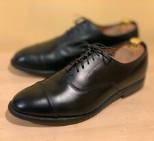 Allen Edmonds Park Avenue Black Captoe Oxford Shoes 9 EEE