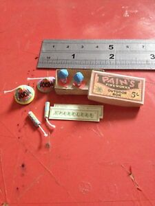 1:12th Scale Dolls House Miniature 'Pains Fireworks' Box