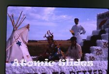 1963 Kodachrome photo slide Parade Saskatchewan Canada #7
