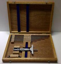 Fowler Nsk 0 150mm Depth Micrometer 52 225 200