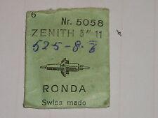 "Zenith balance staff 11  5"" ronda 5058 axe de balancier Unruhwelle"