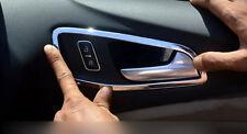 ABS Interior Door Handle Bowl  Trim 4pcs For Ford Escape Kuga 2013 2014 2015