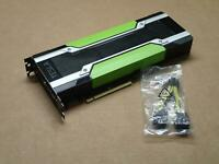 Nvidia Tesla K80 GPU Accelerator 24GB GDDR5 PCI-E Graphics Video Card w/ Adapter