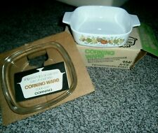 Vtg Corning Ware Spice of Life Casserole & Lid Lechalote MIB  Wedding present