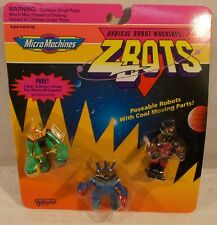 Z-Bots Micro Machines - Bladeroller Emporon Throid Collector's Robots Galoob MOC