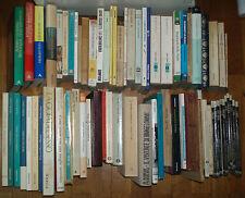 Lotto 200 libri narrativa poesia saggistica - lista all'interno