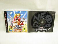 TOP HUNTER Neo Geo CD SNK Neogeo Import Japan Game nc