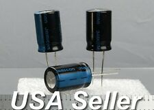 (Lot of 5) 470uF 100V JAMICON TK Series Low-ESR High-End Radial Capacitors