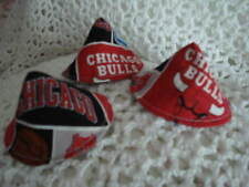 Boys Pee Protector Wee Wee Tent Made With Chicago Bulls Fabric..Set of 3  BCMM