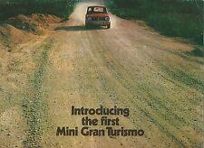 British Leyland Austin Mini Gran Turismo Brochure 1275GT 4 pages Pub no 2686