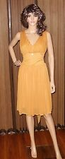 ROBERTO CAVALLI CLASS ORANGE Dress Sz IT 44 US 10 new