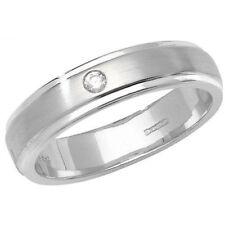 Anelli con diamanti oro bianchi colore fantasia matrimonio