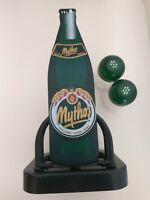 Mythos-GREECE-HELLENIC-LAGER-BEER-CASE-PAPER- Salt-pepper Shaker-Bin.
