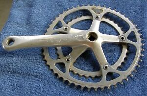 SHIMANO 600 FC-6400 CRANKSET 165 ARM 39 ROUND AND 52 BIOPACE CHAINRINGS