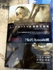 NieR Automata 192 pages World Guide Art Illustrations Art book