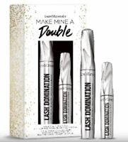 bare Minerals * MAKE MINE A DOUBLE * LASH DOMINATION VOLUMIZING MASCARA DUO $38