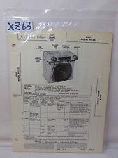 SAMS PHOTOFACT FOLDER MANUAL & SCHEMATIC 1953 CAR RADIO BUICK 981323 50 & 70 SER