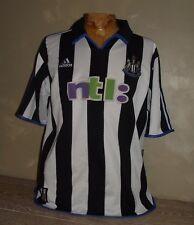 NEWCASTLE ANCIEN Maillot de Football NTL PREMIERE LEAGUE NUFC ALAN SHEARER 2001