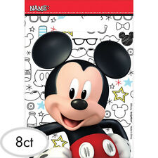 Mickey Mouse Party Supplies 8 Loot Bags Birthday Lolly Treat Sacks
