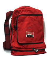 Marlboro Gear Backpack Duffle Bag Combo w Strap Padded Handle Zippers Medium Sz