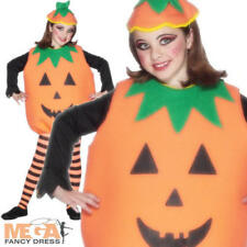 Pumpkin Halloween Kids Boys Girls Fancy Dress Costume Child Ages 5 6 7 8 9 10