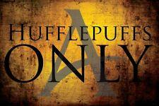 Hufflepuff poster,Hufflepuffs Only Harry Potter,Cedric,Robert Pattinson,Hogwarts