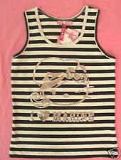 KiLaRa Hello Kitty Tank T shirt Top  Glitter NWT Tee T-Shirt Blouse Sz S