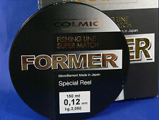 Monofilo Colmic Former 0,40  16,500 kg 150 mt pesca trota, spinning, carpa, mare