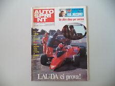 AUTOSPRINT 2/1979 SERVIZIO DELTAPLANO A MOTORE ICARO 80 DI GIORGIO FERRARIS