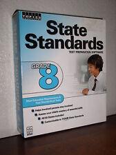 Topics Entertainment State Standards Test Preparation Software-Grade 8 - PC, Mac