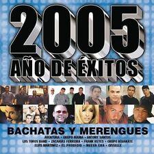 Various Artists : 2005 Ano De Exitos Bachatas Y Merengues CD FREE SHIPPING!!
