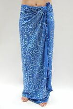 sa105 NEW SARONG BEACH WRAP shawl one size sarongs