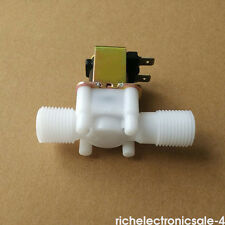 "1/2"" Electric Solenoid Valve For Water Air N/C Normally Closed DC 12Volt RI3 8mm"