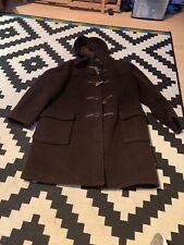 GLOVERALL Classic Duffle Duffel Coat Hooded Woolen  Jacket GB 40