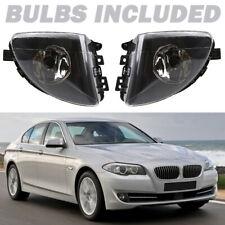Pair Front Fog Lights Lamp W/Blubs Fit for BMW F10 F11 F18 528i 530i 535i 09-13