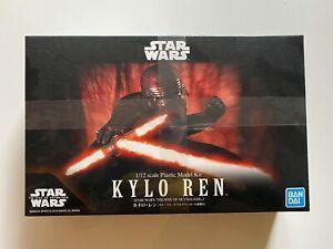 Star Wars Kylo Ren (Star Wars: The Rise Of Skywalker) 1/12 Colored Plastic Model