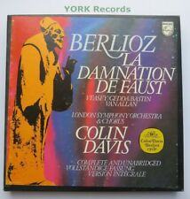 6703 042 - BERLIOZ - La Damnation De Faust DAVIS VEASEY - Ex 3 LP Record Box Set
