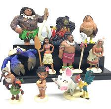 Moana Maui Waialik Heihei pig Pua Action Figures Toy Child Gift Colletion New