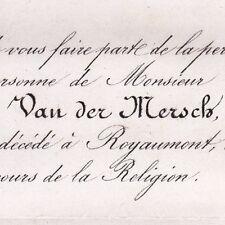 Joseph Augustin Van Der Mersch Abbaye de Royaumont 1862