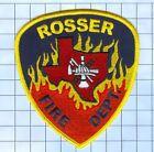 Fire Patch - Rosser