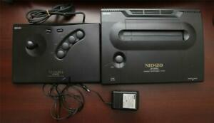 SNK NEO GEO AES  console Japan Advanced Entertainment System US seller