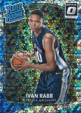 2017-18 PANINI OPTIC FAST BREAK HOLO SILVER PRIZM RATED RC VAN RABB NO. 156