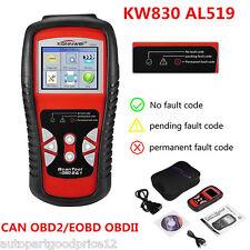KW830 AL519 CAN OBD2 OBDII EOBD Diagnostic Scan Tool Car Van Code Reader Scanner