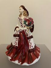 Royal Doulton Christmas Day 2008 Pretty Ladies Porcelain Figure Hn 5209 No Box