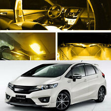 For Honda Fit Jazz Yellow Xenon LED Light Lamp Bulb Interior2 Package 2014-2016